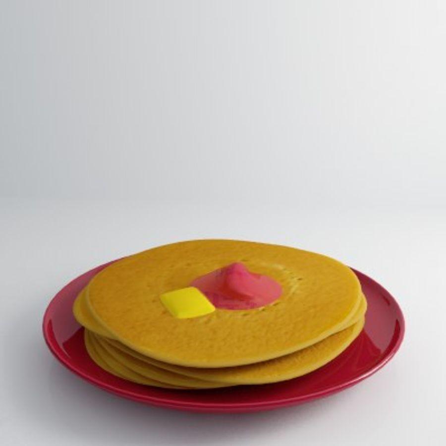 Pancake Gratuit royalty-free 3d model - Preview no. 1