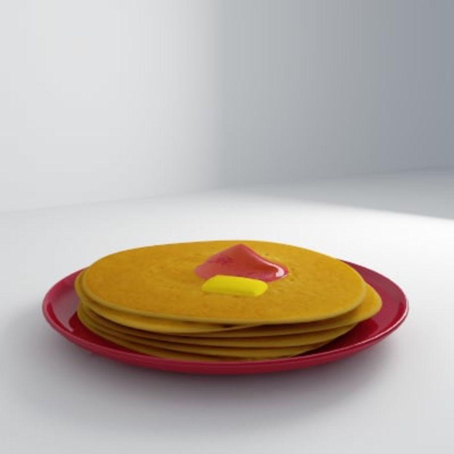 Pancake Gratuit royalty-free 3d model - Preview no. 5