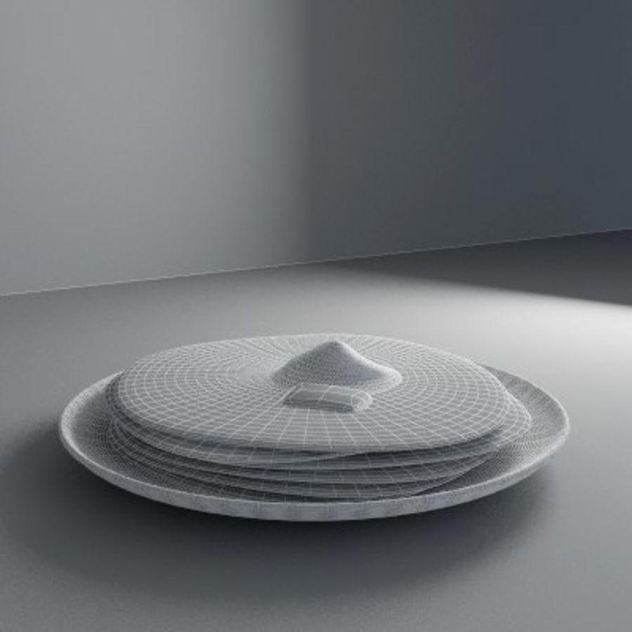 Pancake Gratuit royalty-free 3d model - Preview no. 6