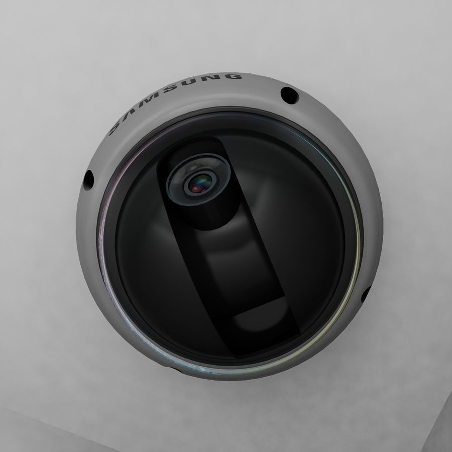Security Camera royalty-free 3d model - Preview no. 6