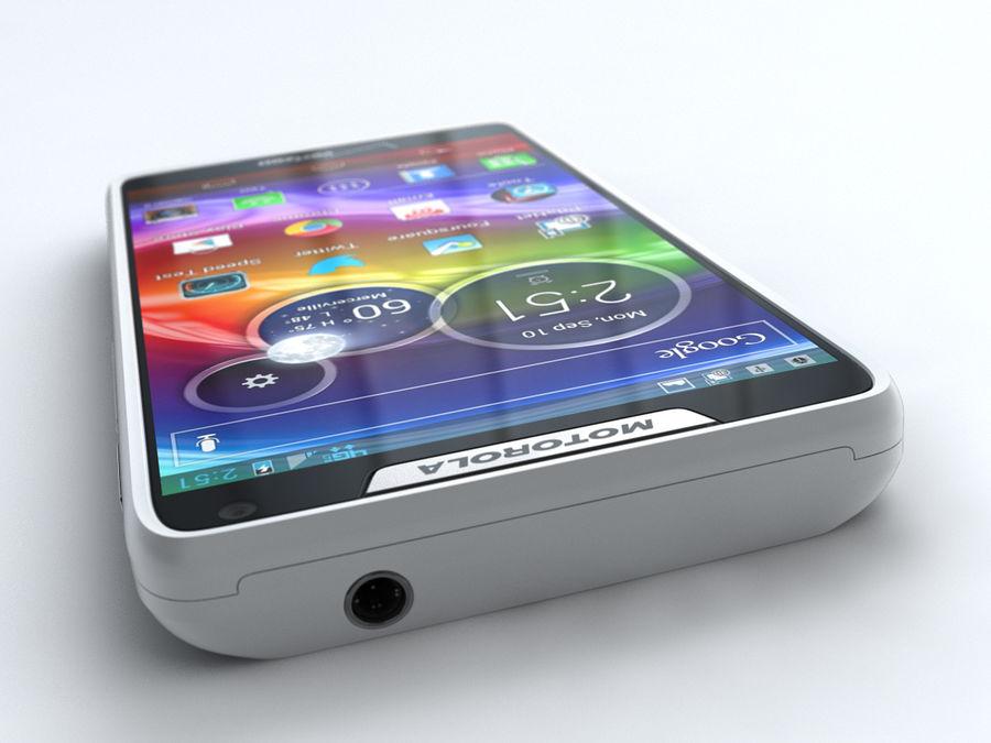 Motorola DROID RAZR M royalty-free 3d model - Preview no. 8