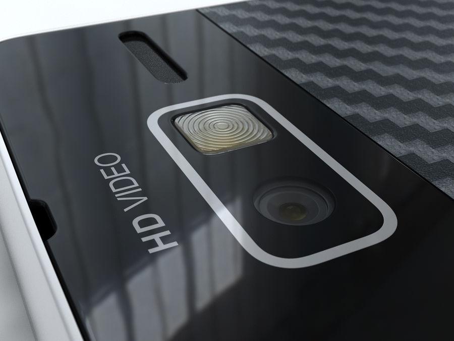 Motorola DROID RAZR M royalty-free 3d model - Preview no. 18