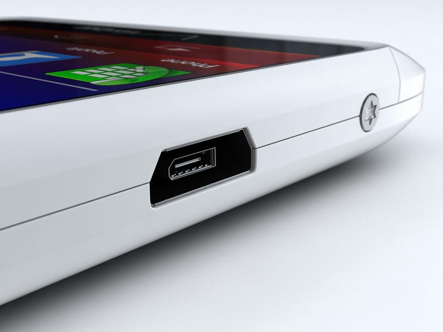 Motorola DROID RAZR M royalty-free 3d model - Preview no. 22