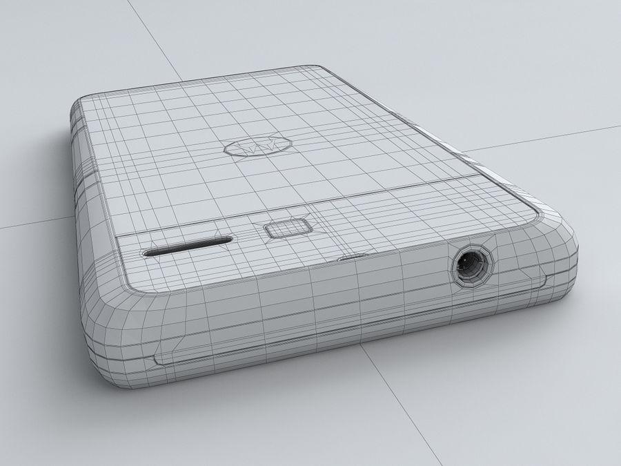 Motorola DROID RAZR M royalty-free 3d model - Preview no. 27