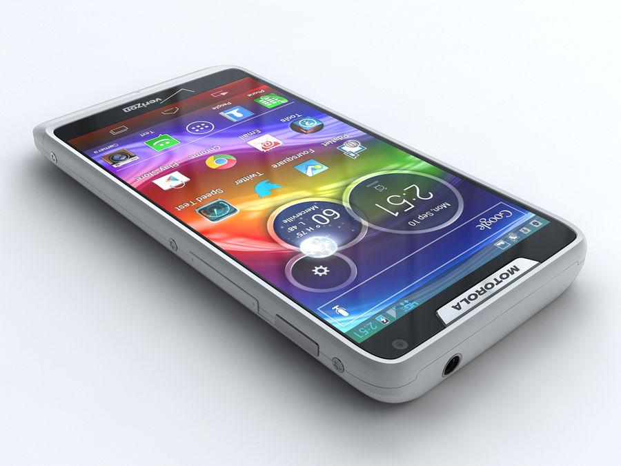 Motorola DROID RAZR M royalty-free 3d model - Preview no. 2