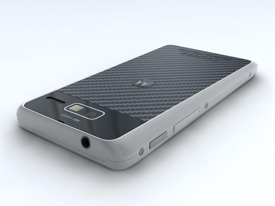 Motorola DROID RAZR M royalty-free 3d model - Preview no. 6