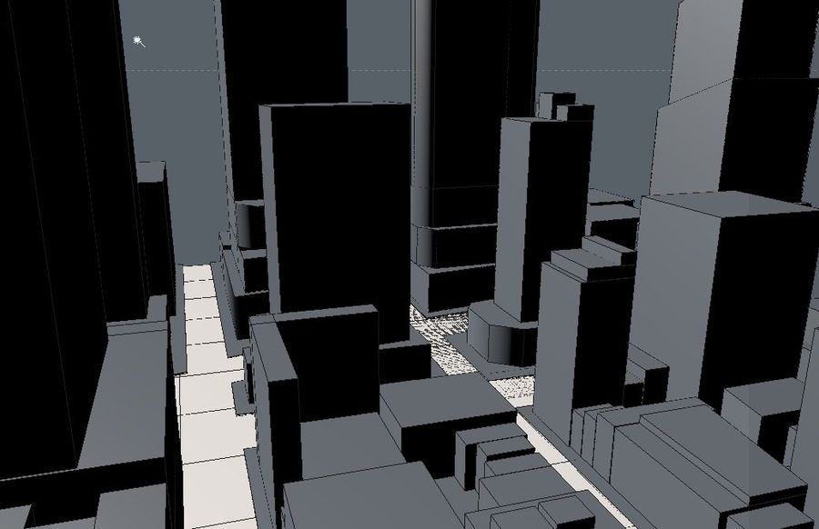 Times Square royalty-free 3d model - Preview no. 1