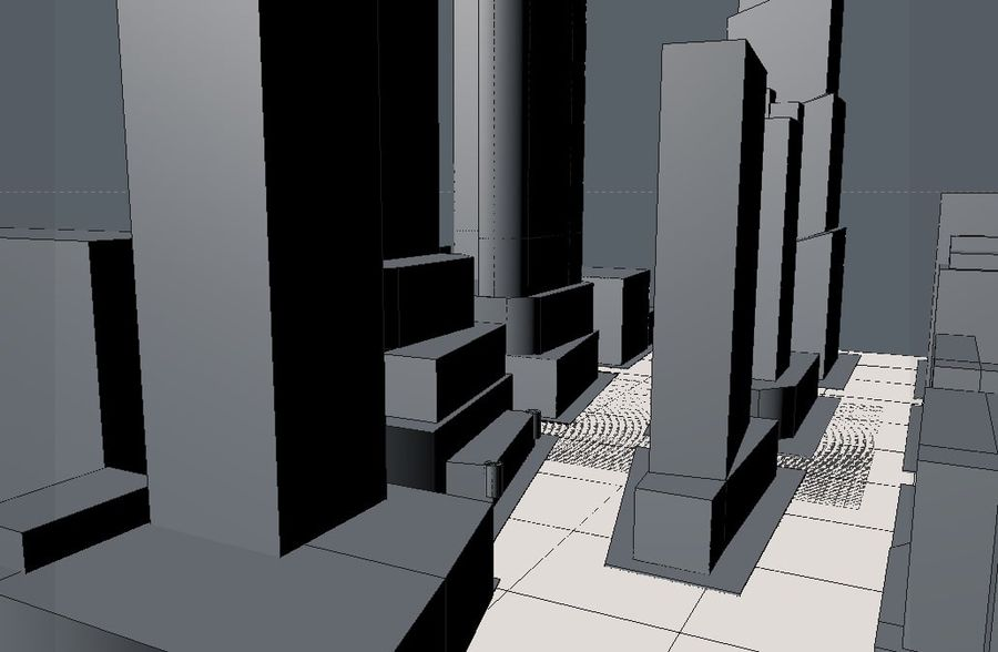 Times Square royalty-free 3d model - Preview no. 2