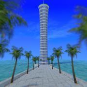 Spiral Tower 3d model