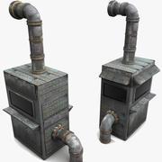 Factory Machines Textured (2) 3d model