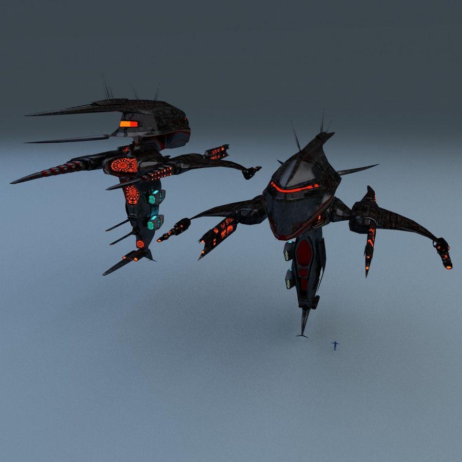 Alien royalty-free 3d model - Preview no. 12