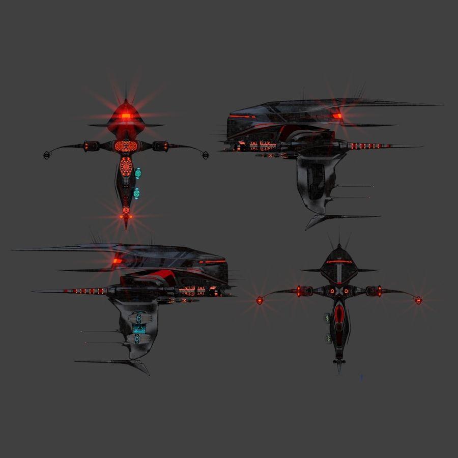 Alien royalty-free 3d model - Preview no. 11