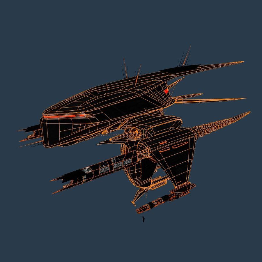Alien royalty-free 3d model - Preview no. 6