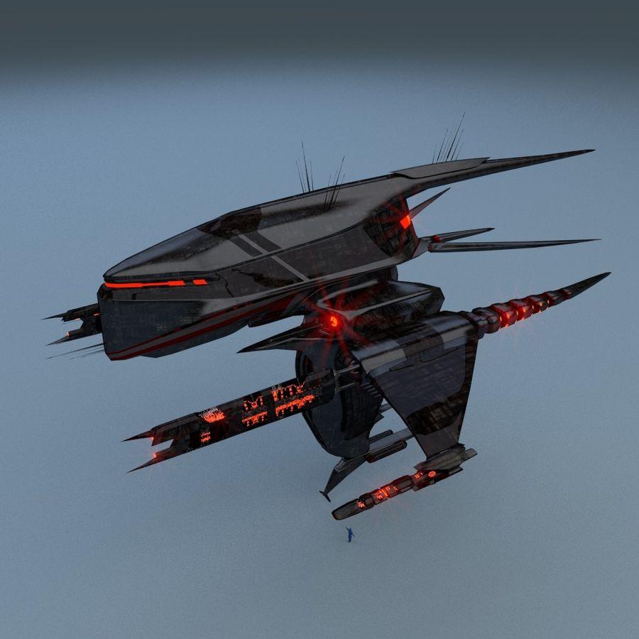 Alien royalty-free 3d model - Preview no. 2