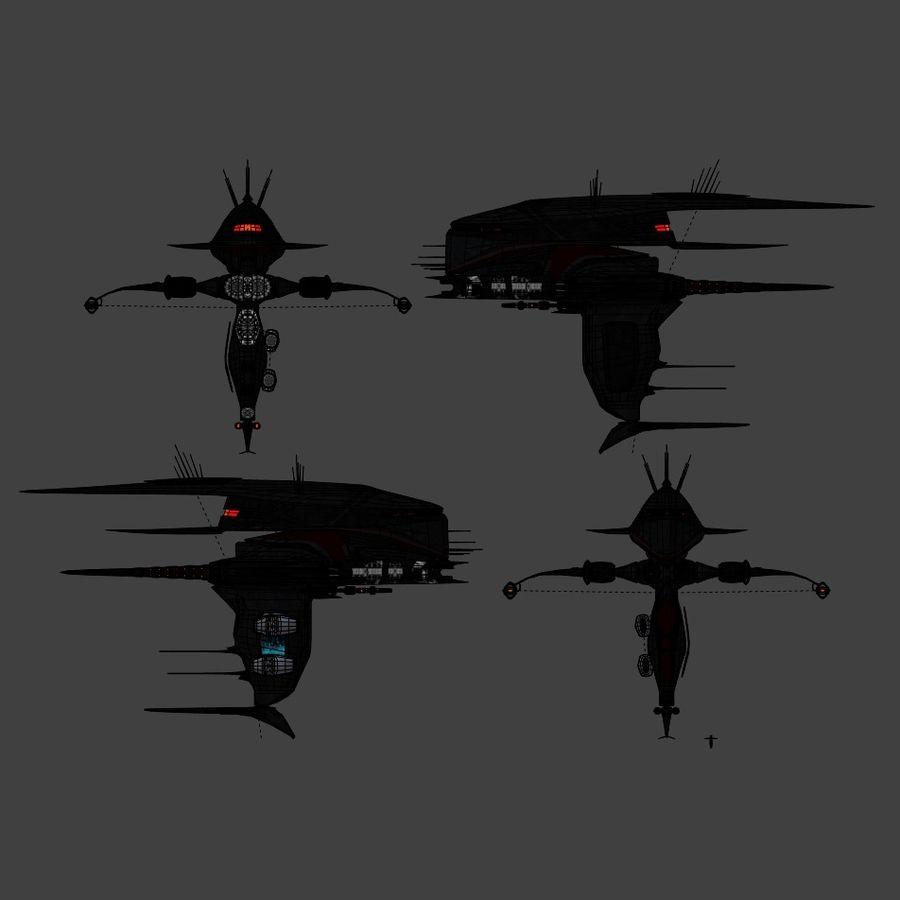Alien royalty-free 3d model - Preview no. 7