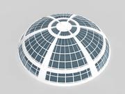 未来派建筑天文馆 3d model