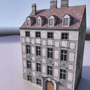 유럽 건축물 011 3d model