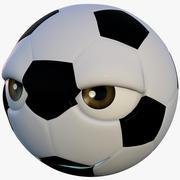 Personnage de football 3d model