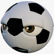 Personaggio del calcio 3d model