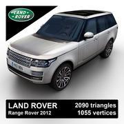 Range Rover 2012 3d model