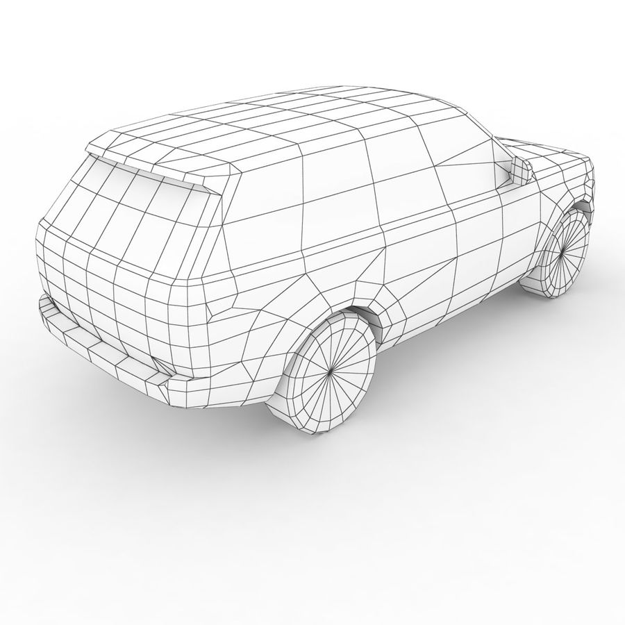 Range Rover 2012 royalty-free 3d model - Preview no. 7