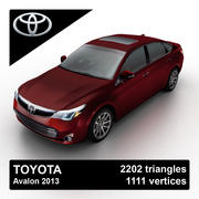 Toyota Avalon 2013 3d model