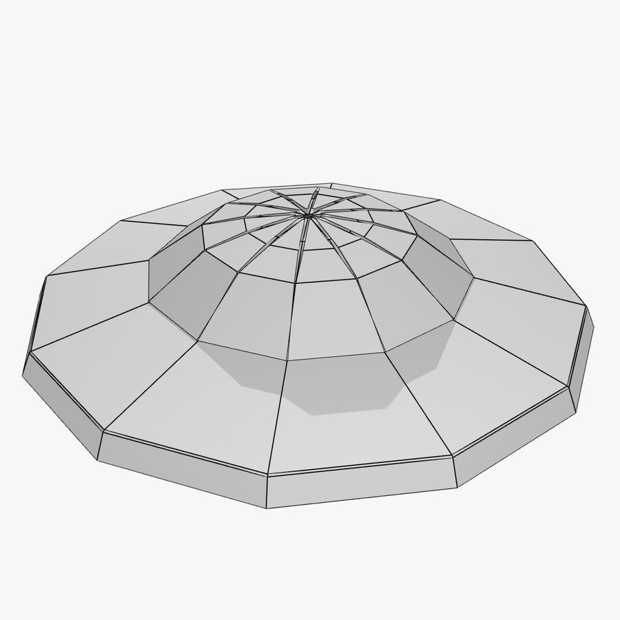 UFO royalty-free 3d model - Preview no. 13