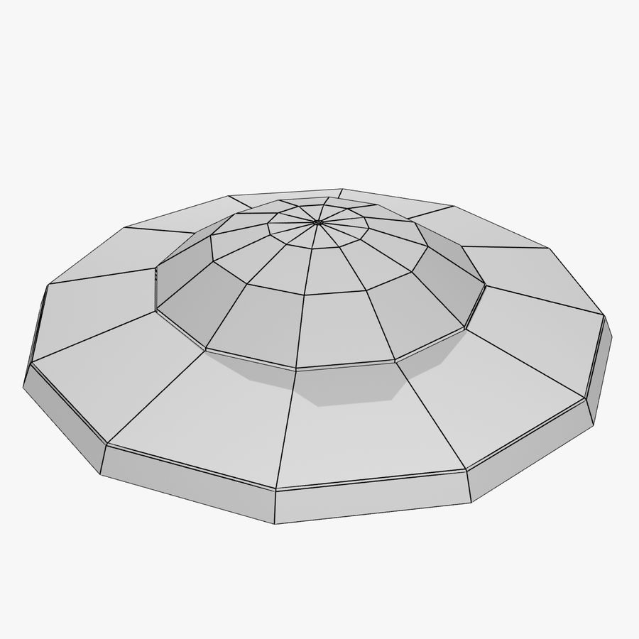 UFO royalty-free 3d model - Preview no. 14