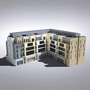 현대 종합 건축물 018 3d model