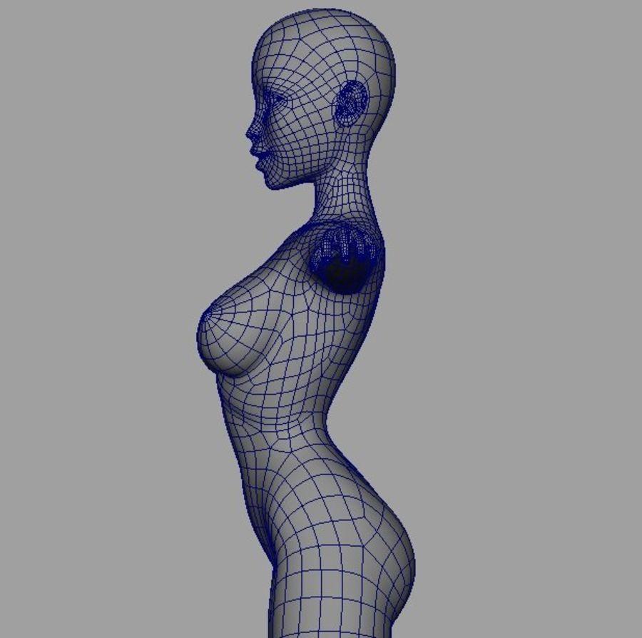 Girl in bikini royalty-free 3d model - Preview no. 16