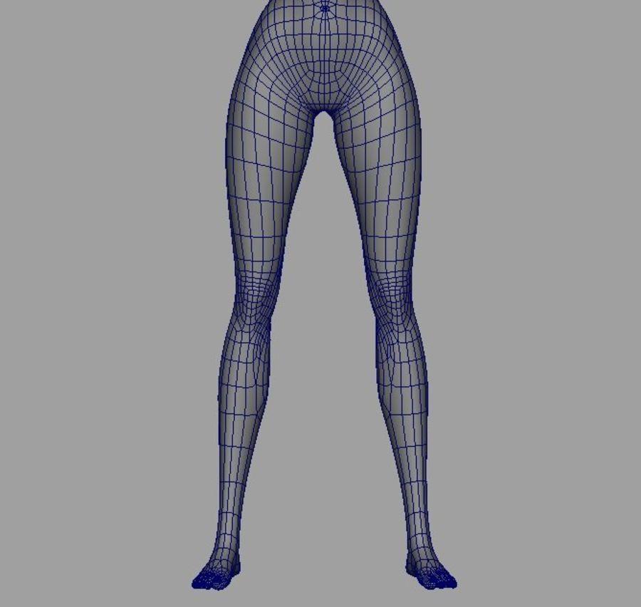 Girl in bikini royalty-free 3d model - Preview no. 18