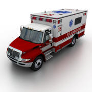 International Durastar Ambulance 3d model