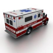 Ambulancia Internacional Durastar modelo 3d