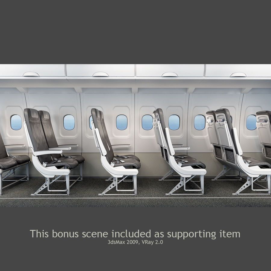 Recaro BL3520 Seat royalty-free 3d model - Preview no. 9