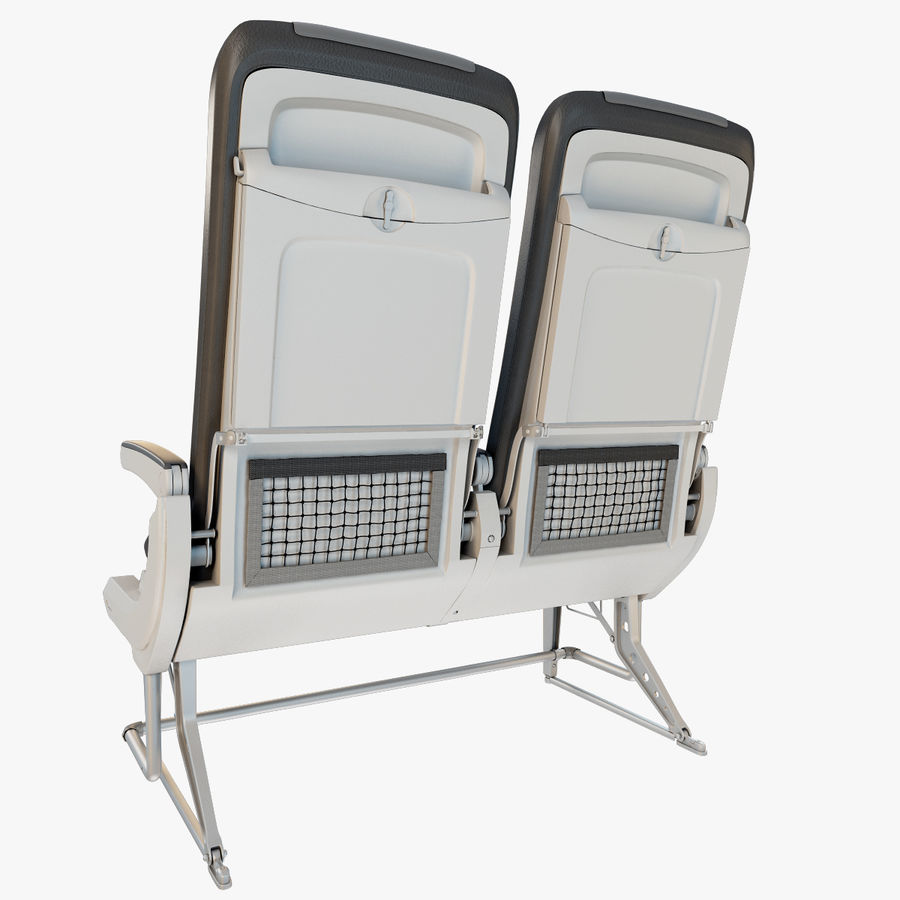 Recaro BL3520 Seat royalty-free 3d model - Preview no. 4