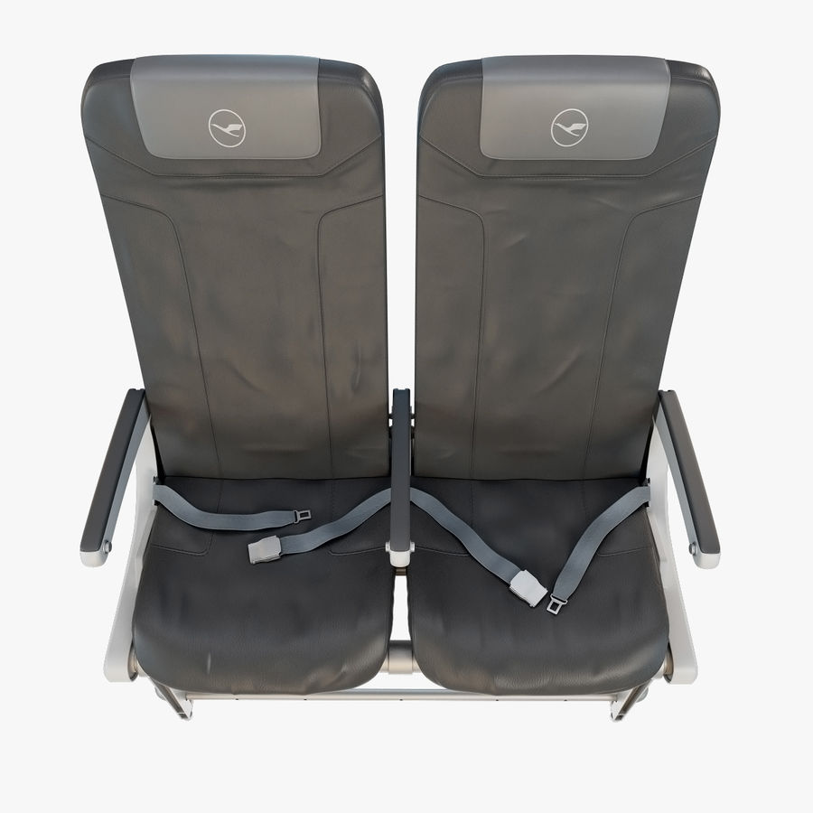Recaro BL3520 Seat royalty-free 3d model - Preview no. 7