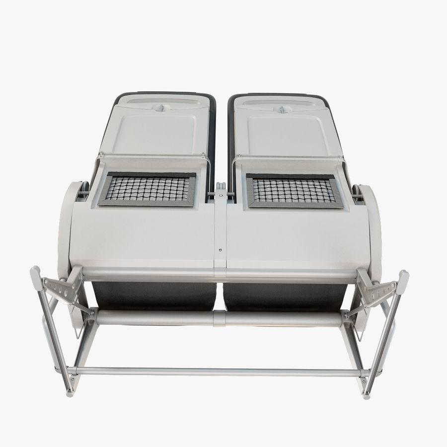 Recaro BL3520 Seat royalty-free 3d model - Preview no. 6