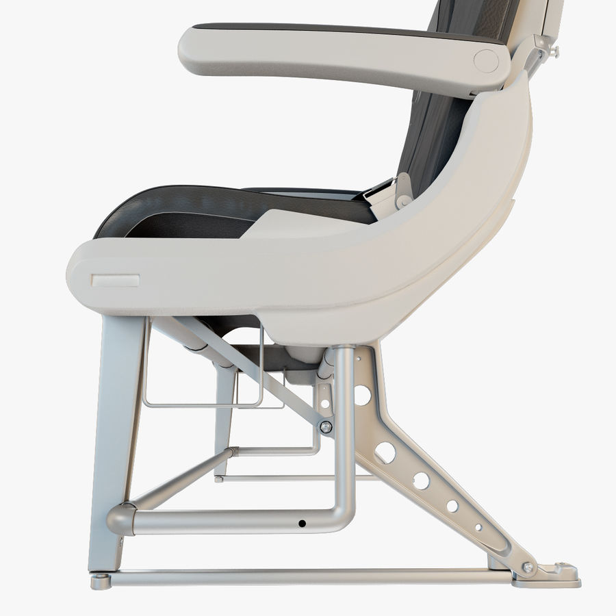 Recaro BL3520 Seat royalty-free 3d model - Preview no. 8