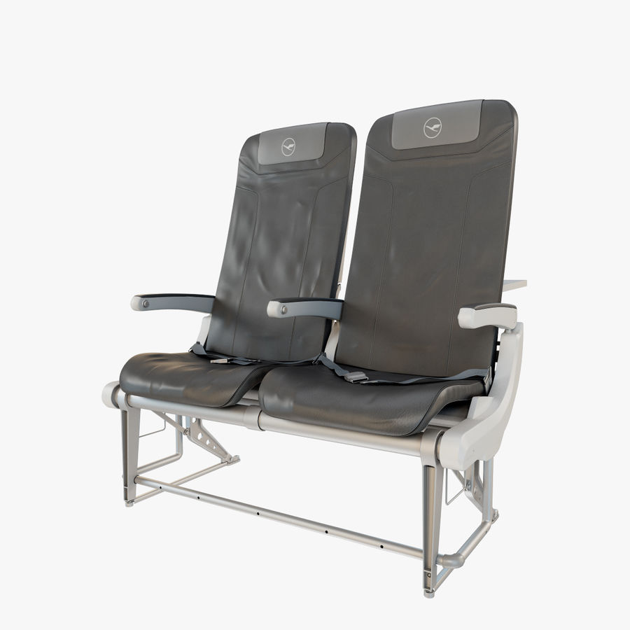 Recaro BL3520 Seat royalty-free 3d model - Preview no. 1