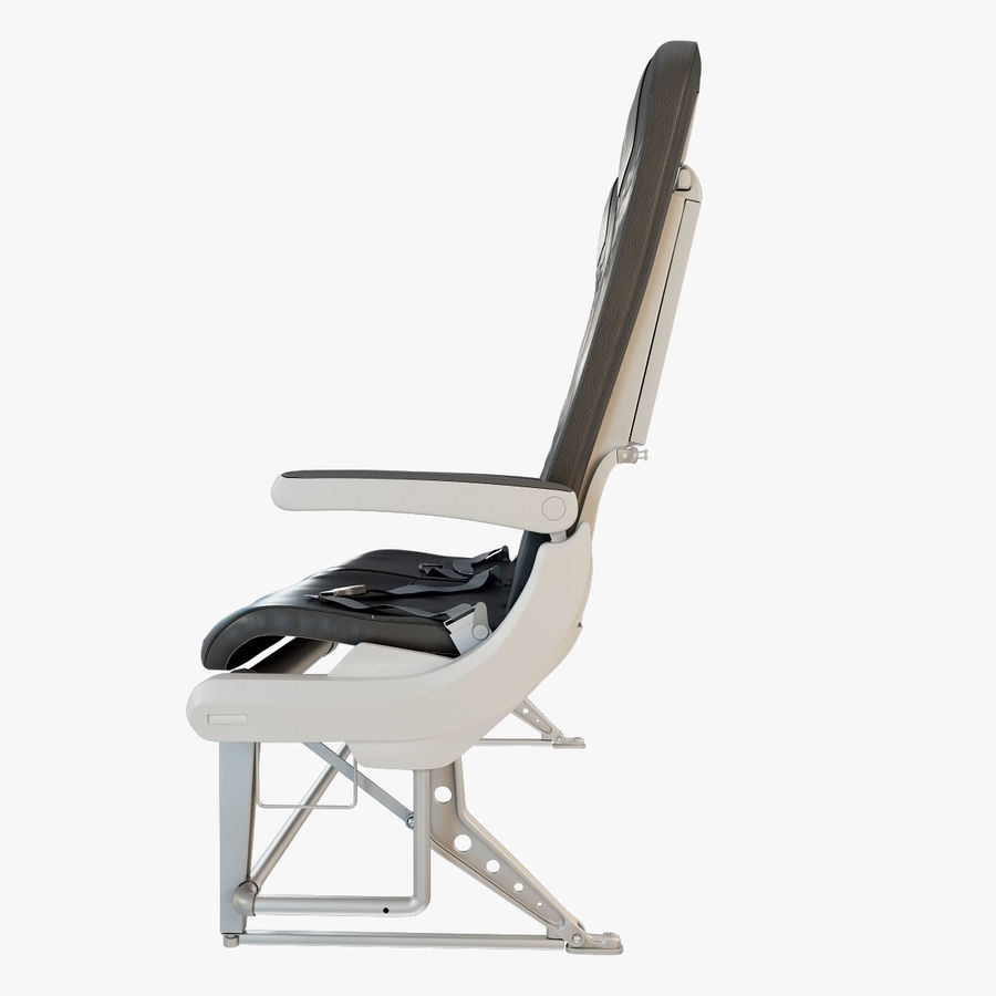 Recaro BL3520 Seat royalty-free 3d model - Preview no. 5