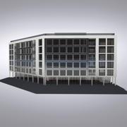 현대 일반 건물 022 3d model
