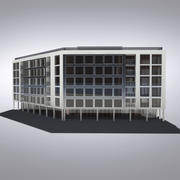 Modern Generic Building 022 3d model