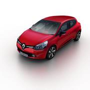 Renault Clio 2013 3d model