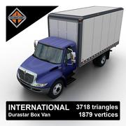 International Durastar Box Van 3d model