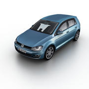 Volkswagen Golf VII 2013 3d model