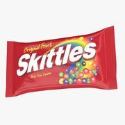 Skittles Package 3d model