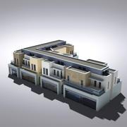 현대 종합 건축물 019 3d model