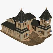 HD Castle 3d model
