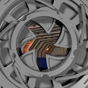 Porte d'iris (1) 3d model