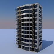 studio appartementen 3d model